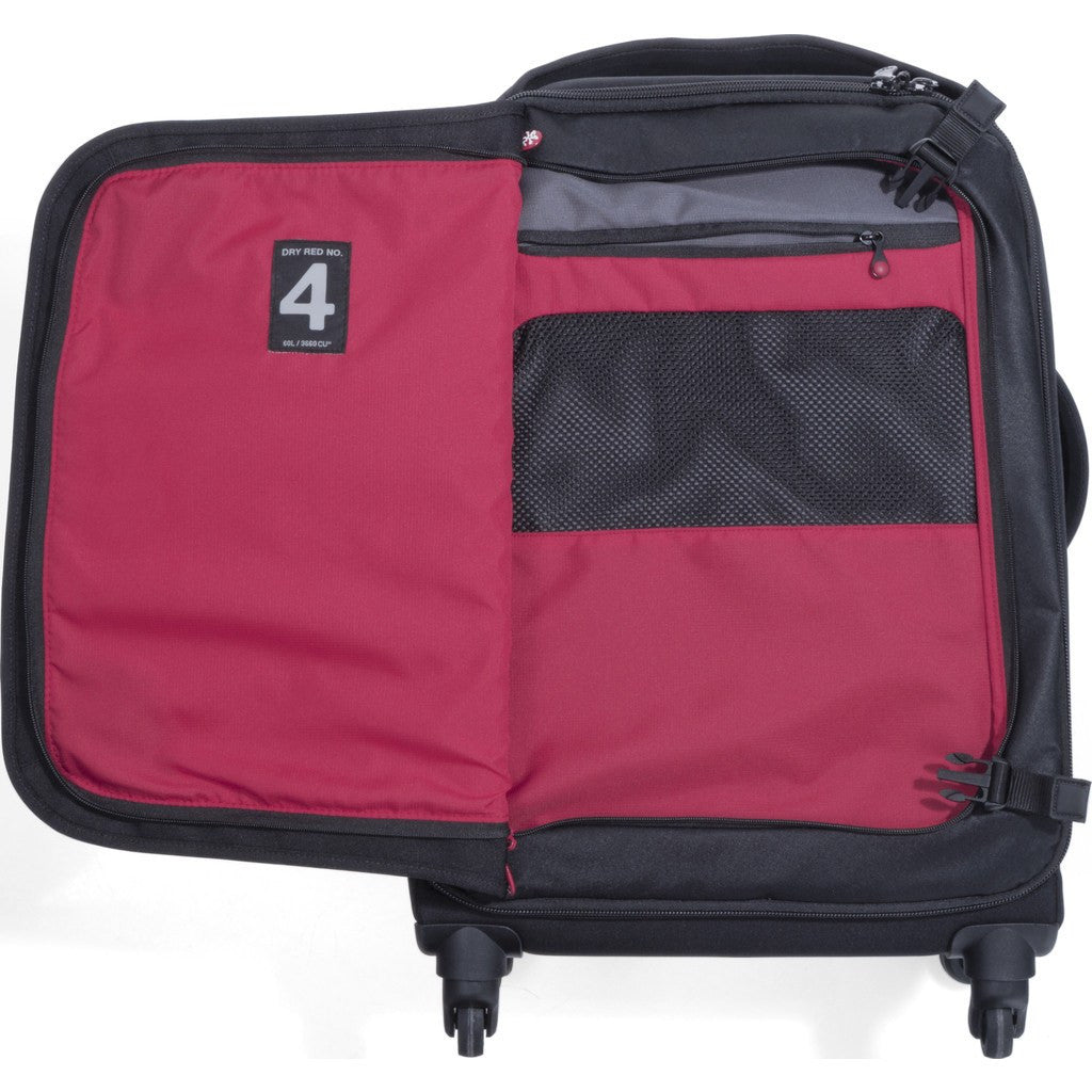 Crumpler Dry Red No 4 68cm Check In Luggage | Black DR4003-B00T68
