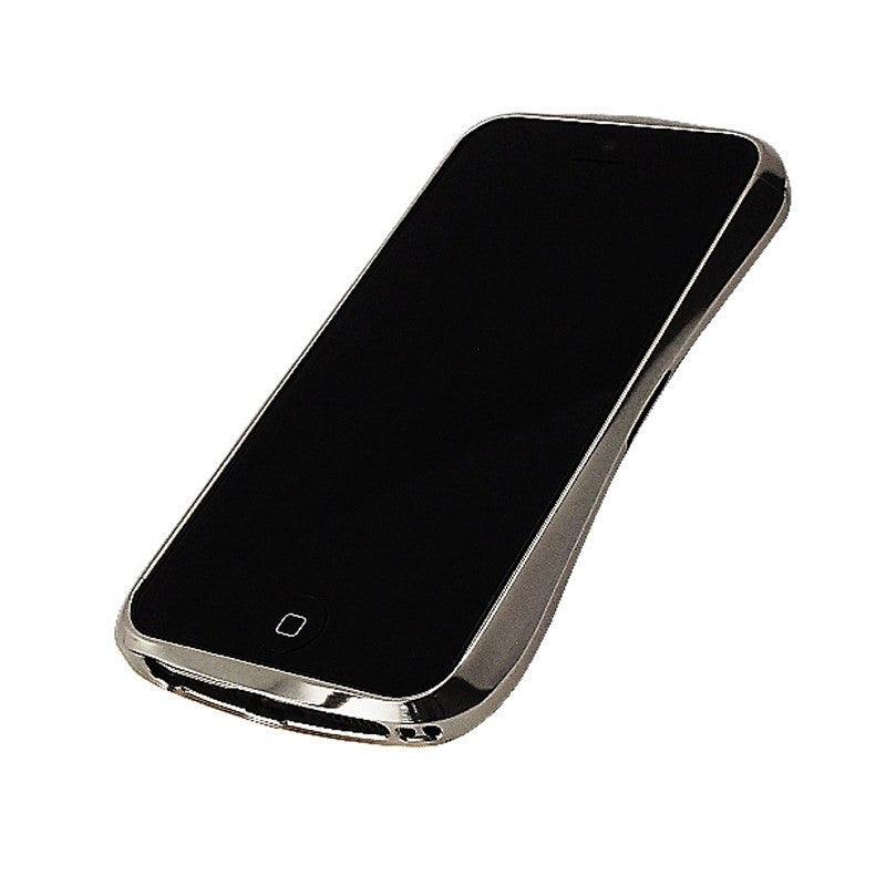 Draco Design Aluminum Bumper iPhone 5/5S Case | Luxury Silver