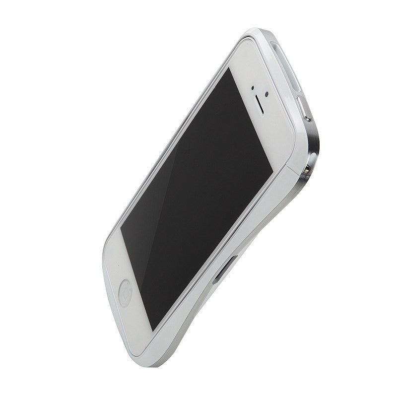 Draco Design Aluminum Bumper iPhone 5/5S Case | Luxury White