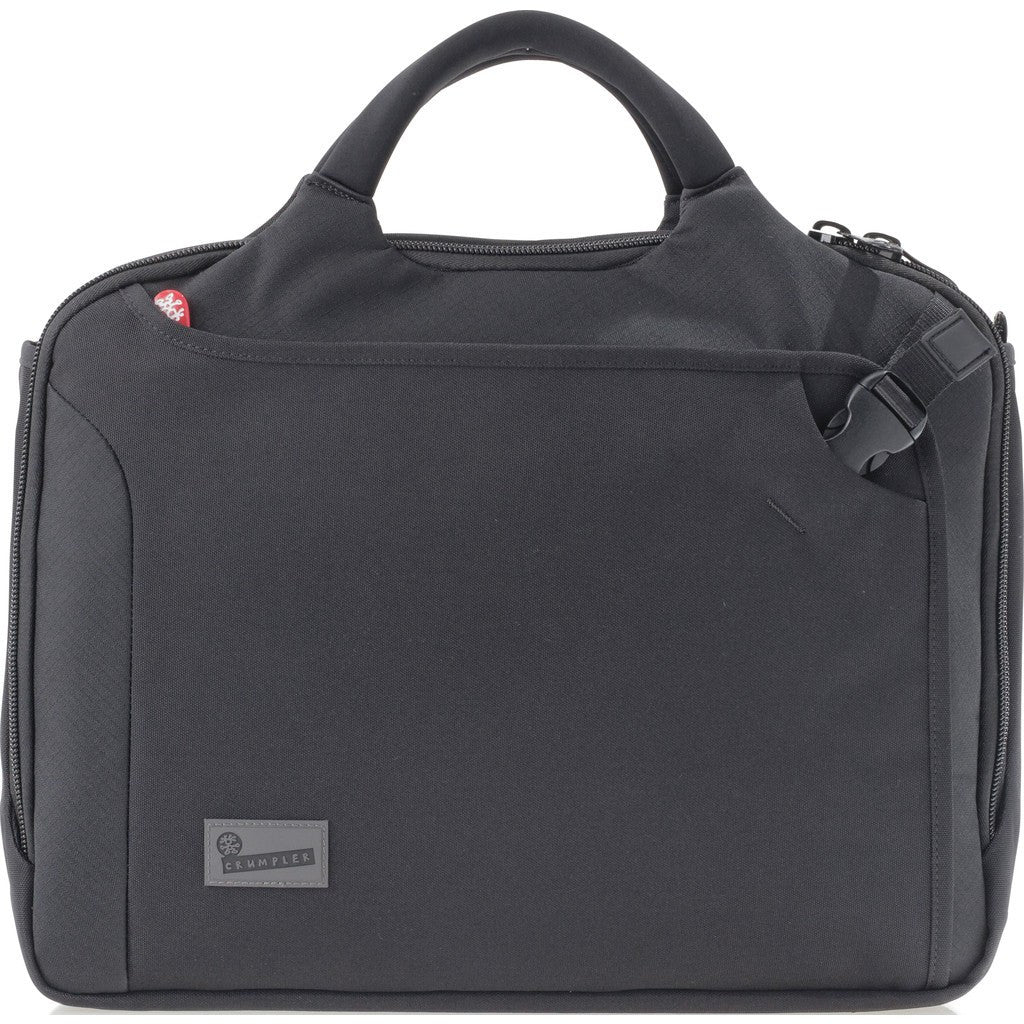 Crumpler Dry Red No 8 Briefcase | Black DRC002-B00170