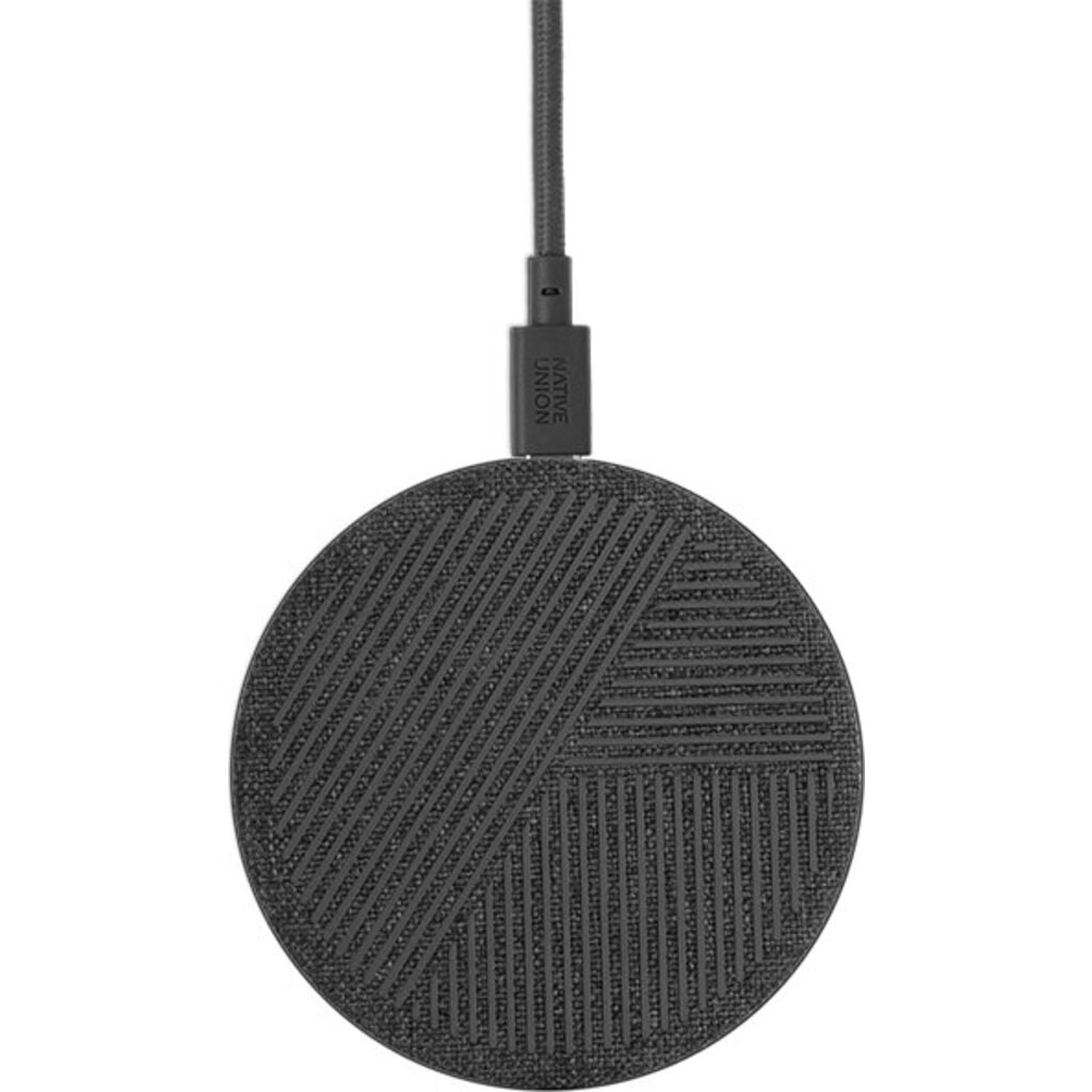 Native Union Drop V2 Wireless Charging Pad | Fabric/Slate
