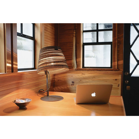 Graypants Scraplight Tilt Table Lamp | Natural