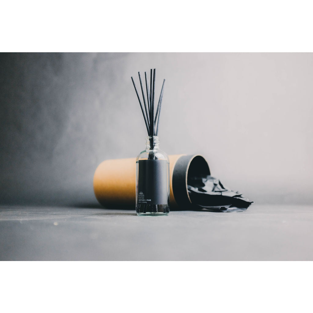 Ranger Station Reed Diffuser | Leather + Pine