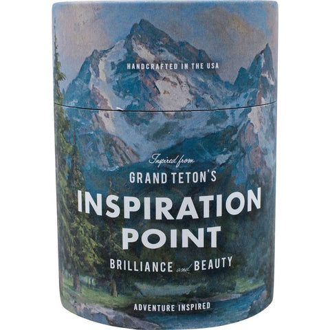 Ethics Supply Co. Organic Scented Candle | Grand Teton Inspiration Point