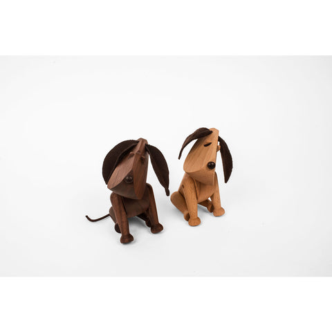 Architectmade Bobby Wooden Dog | Walnut Wood 341