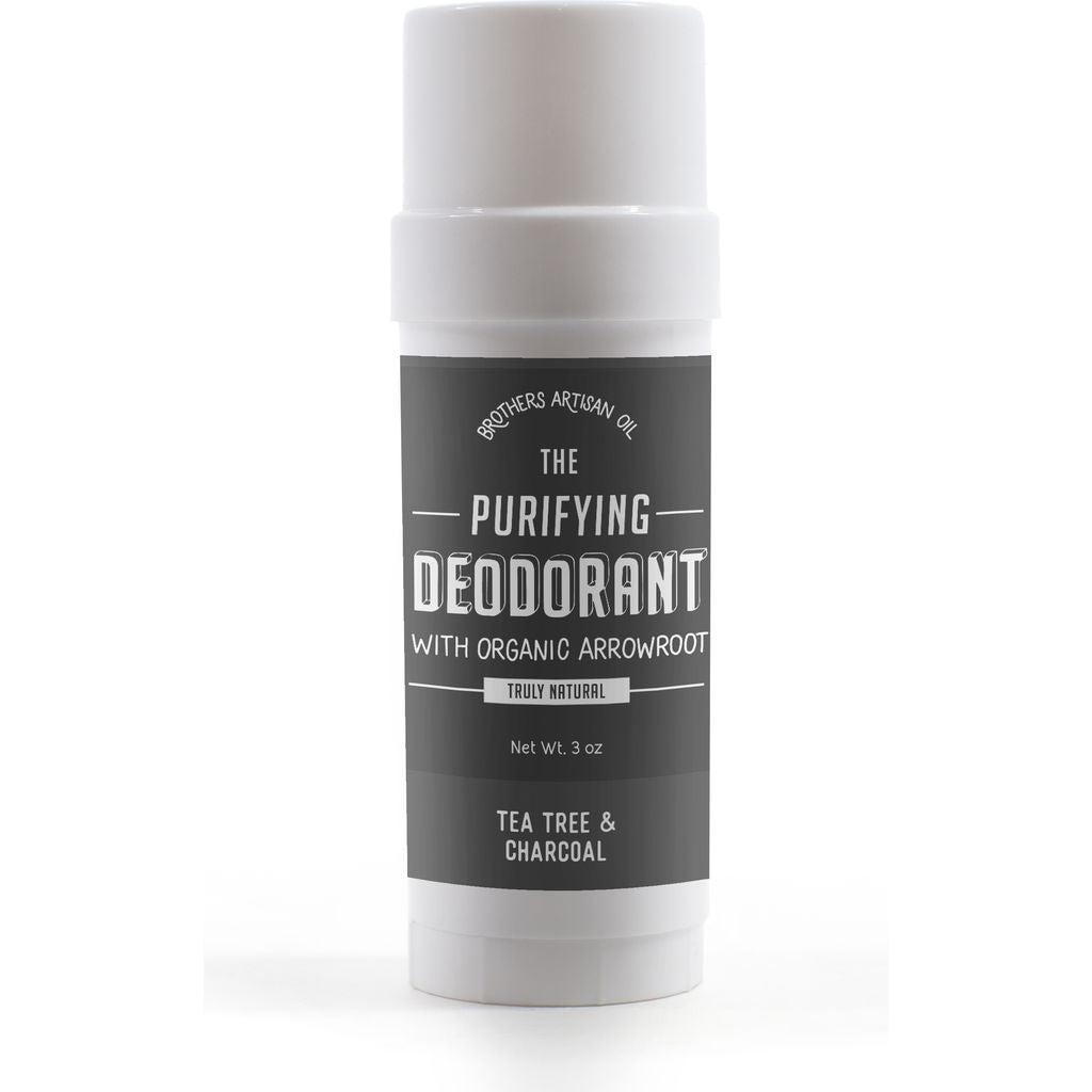 Brothers Artisan Purifying Deodorant | Tea Tree & Charcoal MDPD