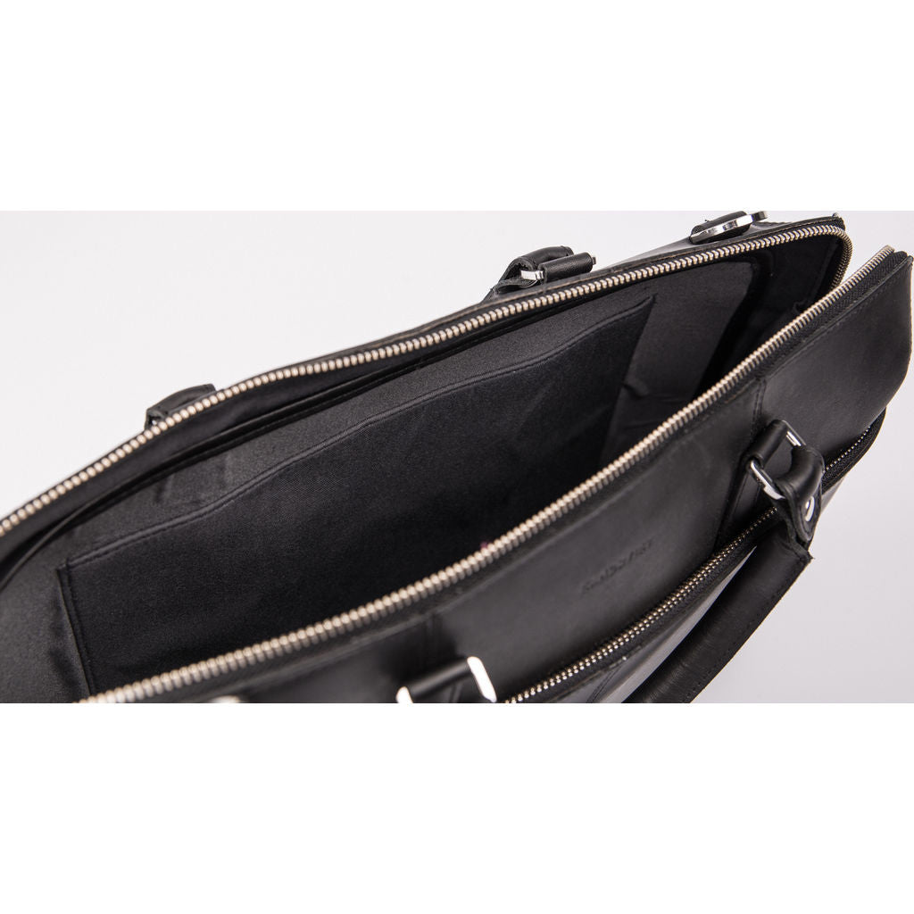 Sandqvist Small Dustin Briefcase | Black SQA643