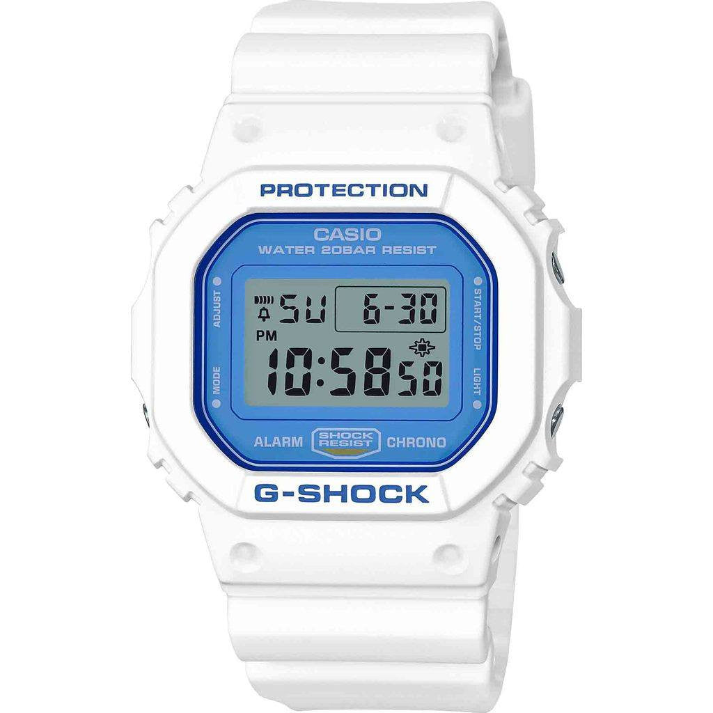 Minimalist Bedroom Furniture Casio G Shock White And Blue Series Dw5600wb 7 Watch White