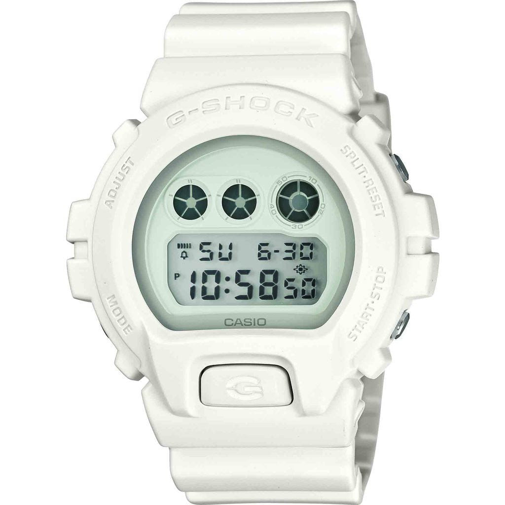 Casio G-Shock Whiteout Series DW6900WW-7CS Watch | White