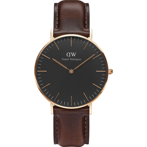 Daniel Wellington Classic Bristol Watch | Rose Gold 36mm