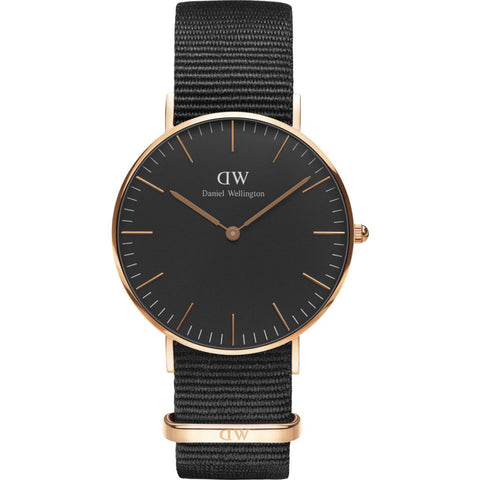 Daniel Wellington Classic Cornwall Watch | Rose Gold 36mm