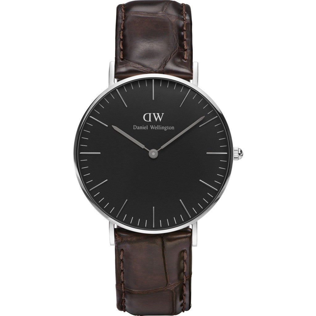 Daniel Wellington Classic York Watch | Silver 36mm