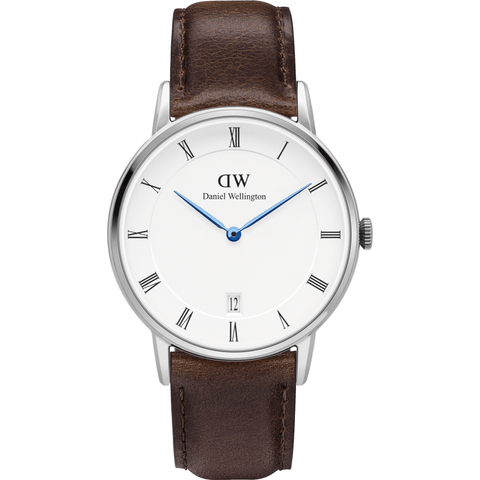 Daniel Wellington Dapper Bristol Watch | Silver 34mm DW00100098