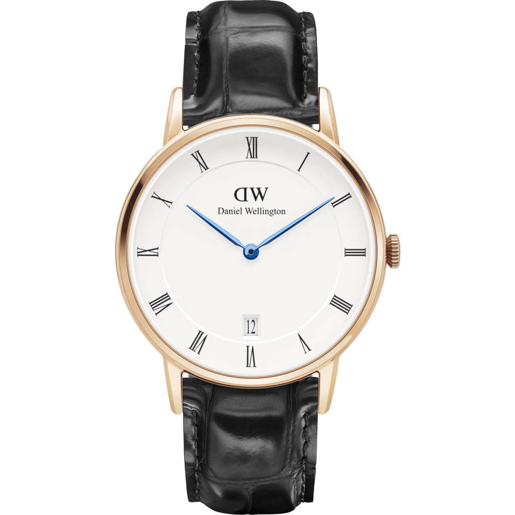 Daniel Wellington Dapper Reading Watch | Rose Gold 34mm DW00100118
