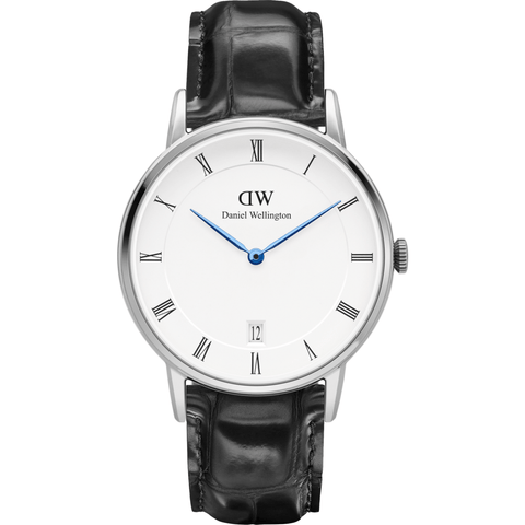 Daniel Wellington Dapper Reading Watch | Silver 34mm DW00100117