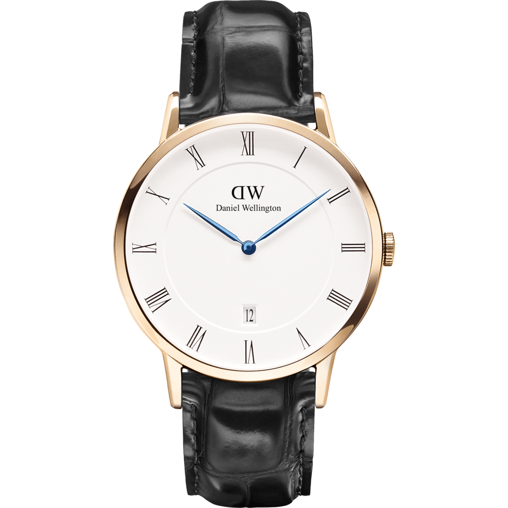 Daniel Wellington Dapper Reading Watch | Rose Gold 38mm DW00100107