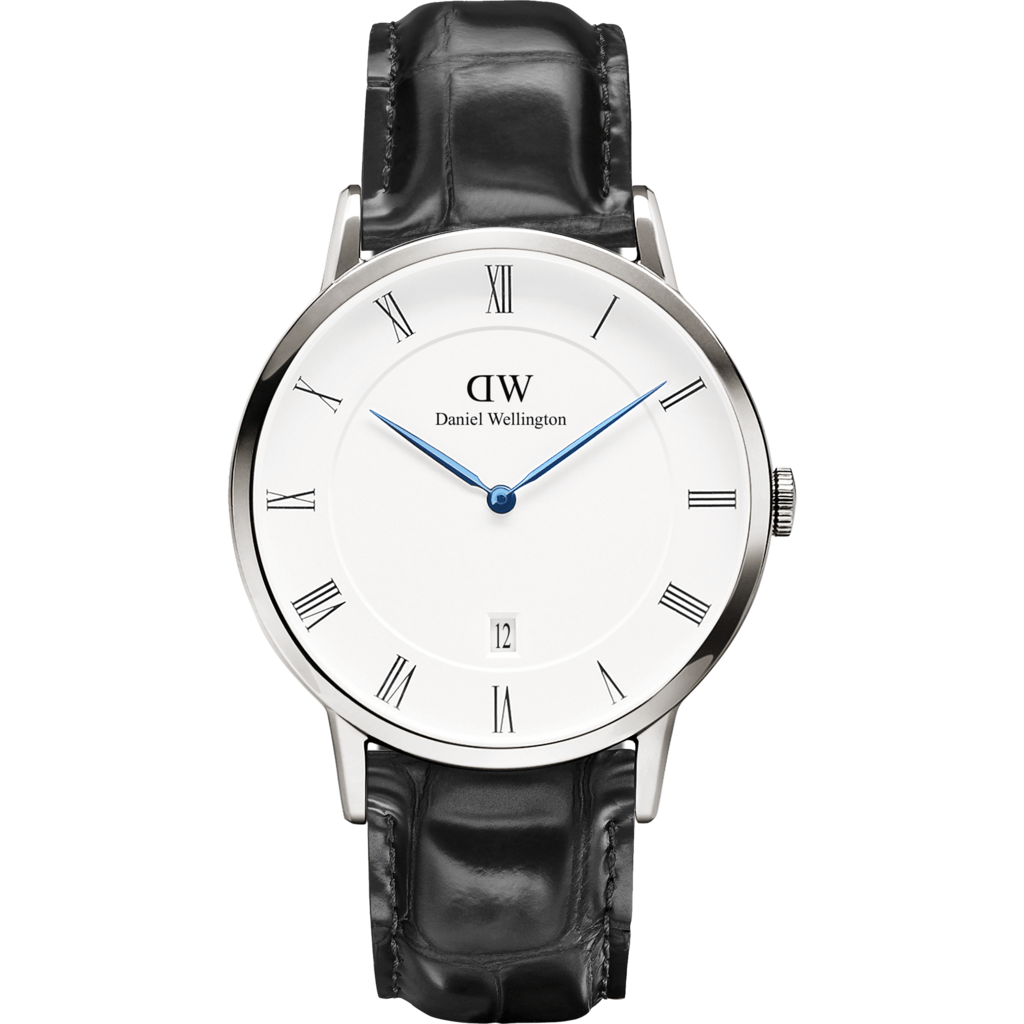 Daniel Wellington Dapper Reading Watch | Silver 38mm DW00100108