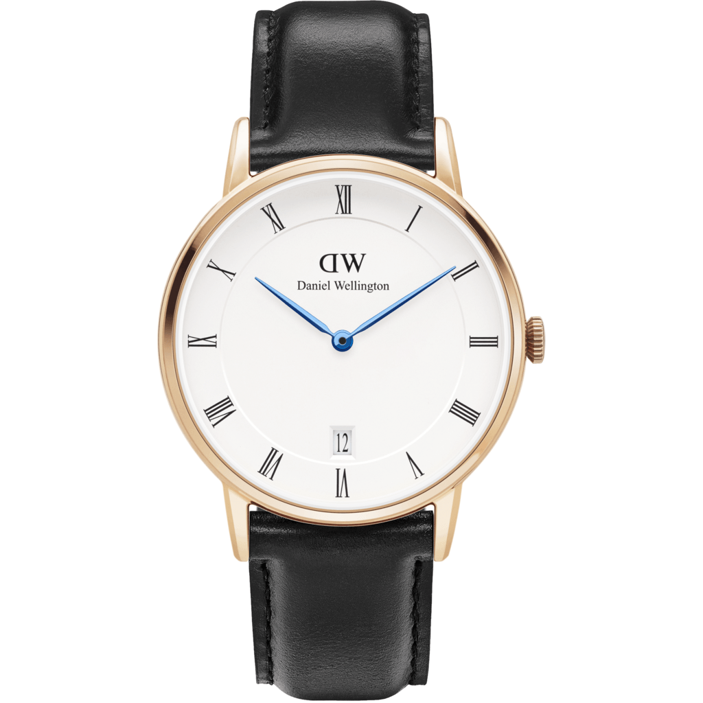 Daniel Wellington Dapper Sheffield Watch | Rose Gold 34mm DW00100092
