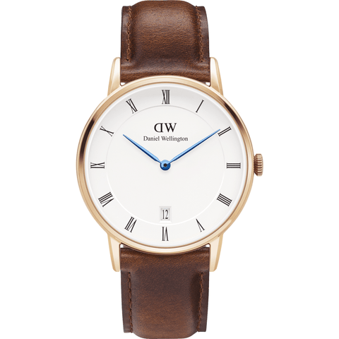 Daniel Wellington Dapper St. Mawes Watch | Rose Gold 34mm DW00100091