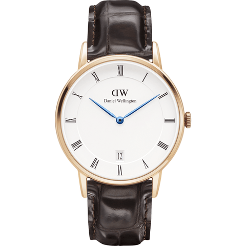 Daniel Wellington Dapper York Watch | Rose Gold 34mm DW00100093