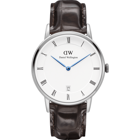 Daniel Wellington Dapper York Watch | Silver 34mm DW00100097