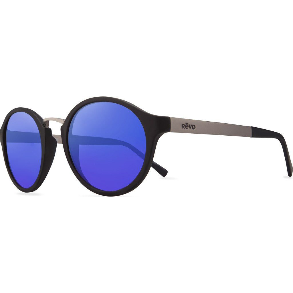Revo Eyewear Dalton Matte Black Sunglasses | H20 Blue RE 1043 01 GBH