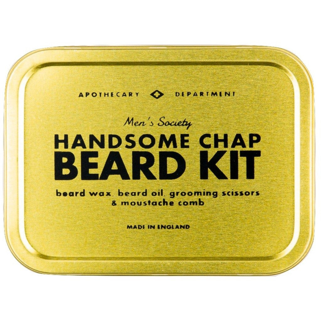 men 39 s society handsome chap beard grooming kit sportique. Black Bedroom Furniture Sets. Home Design Ideas