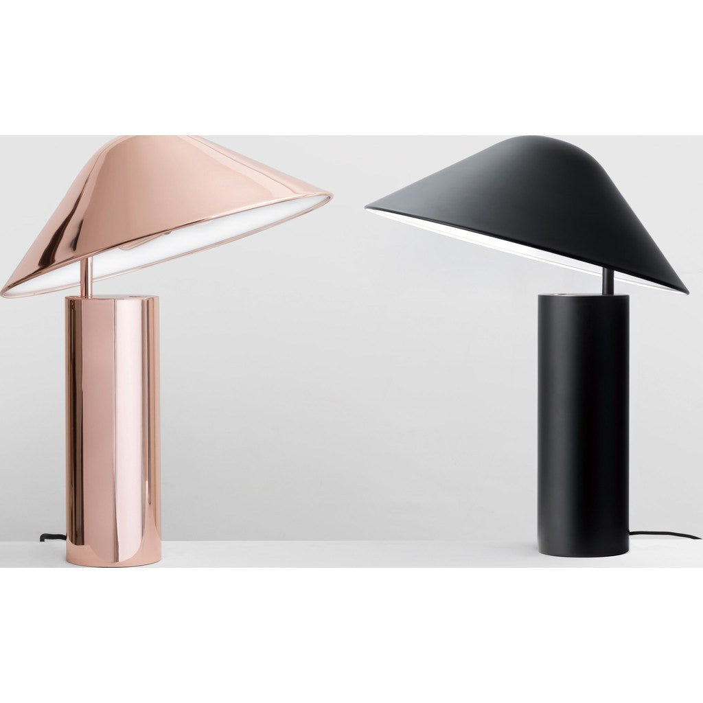 Seed Design Damo Table Simple Lamp | Black SQ-339MDRS-BK