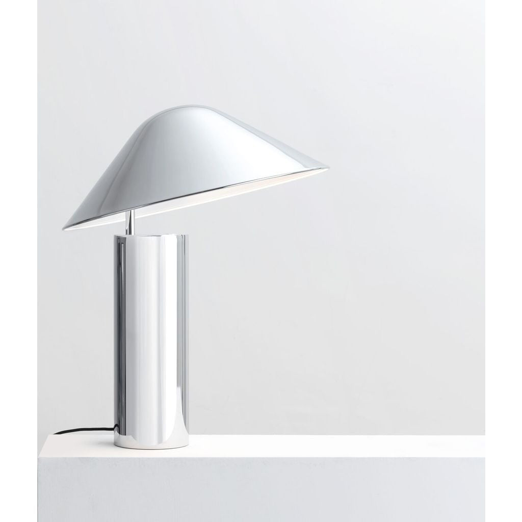Charmant Seed Design Damo Simple Table Lamp | Chrome SQ 339MDRS CRM ...