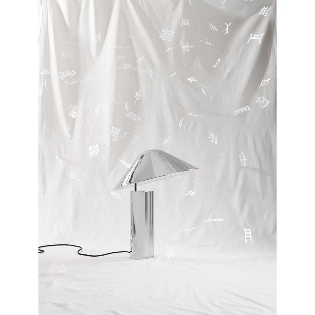 Seed Design Damo Simple Table Lamp | Chrome SQ-339MDRS-CRM