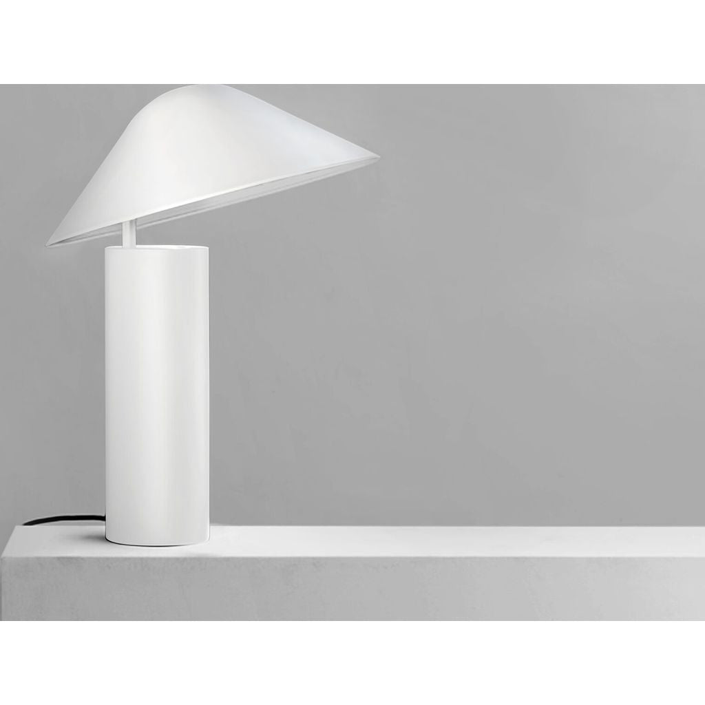 Seed Design Damo Simple Table Lamp | White SQ 339MDRS WH ...