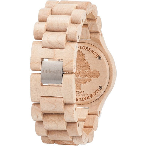WeWood Date Maple Wood Watch | Beige