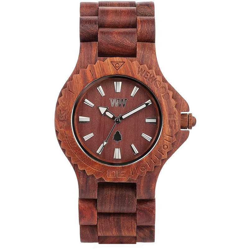 WeWood Date Red Wing Celtis Wood Watch | Brown