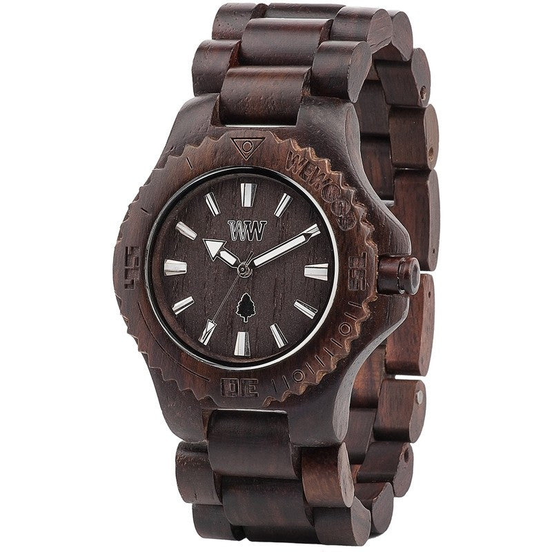 WeWood Date Rosewood Wood Watch | Chocolate