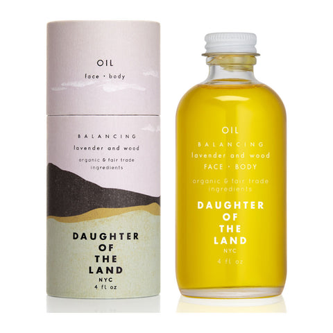 Daughter of the Land Balancing Face and Body Oil | Lavender + Wood
