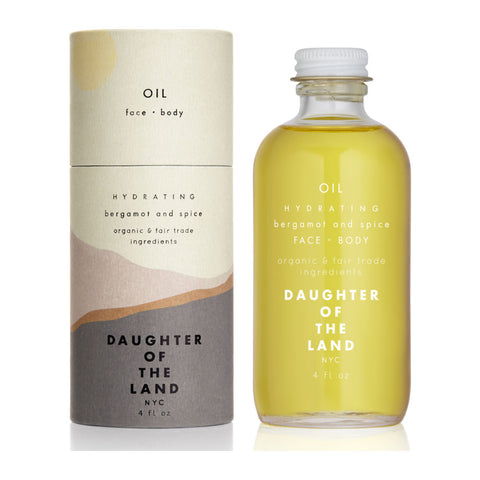 Daughter of the Land Hydrating Face and Body Oil | Bergamot + Spice