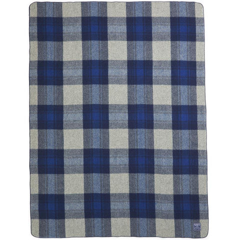Faribault Defender Plaid Throw | Wool