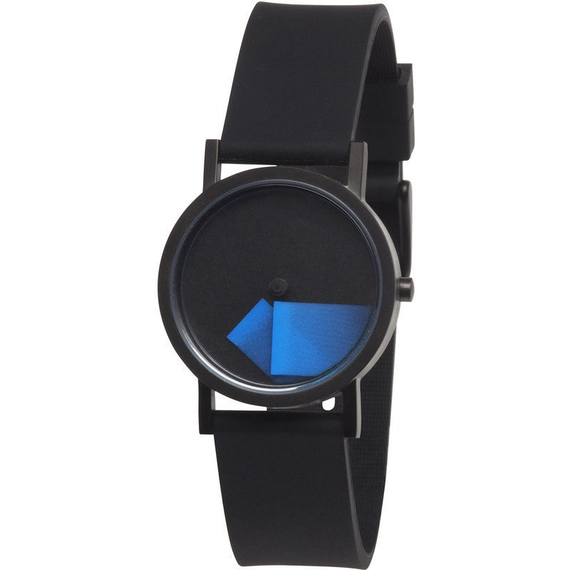 Projects Watches Denis Guidone Deja Vu Blue Time is Cool Time Watch | Blue