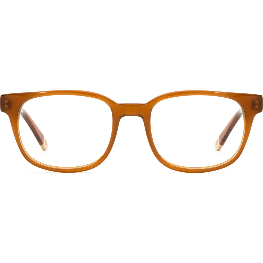 Proof Delta Optical Glasses | Brown/Clear
