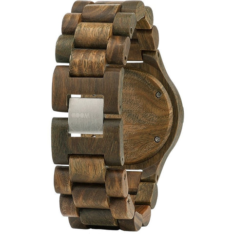 WeWood Deneb Guaiaco Wood Watch | Army