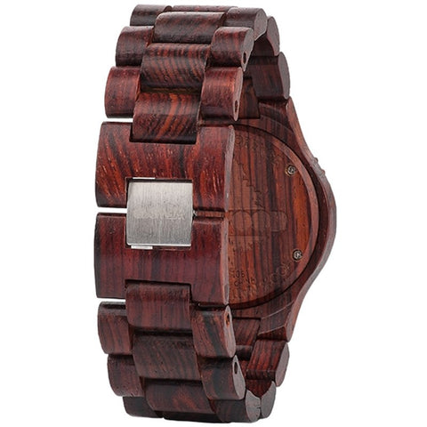 WeWood Deneb Indian Rosewood Wood Watch | Chocolate