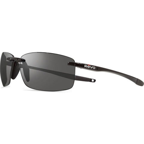 Rēvo Eyewear Descend N Black Sunglasses | Graphite