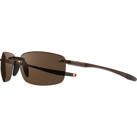 Rēvo Eyewear Descend N Crystal Brown Sunglasses | Terra