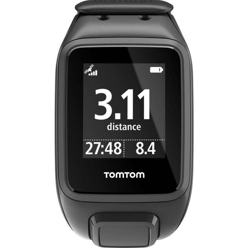 TomTom Spark Music + Cardio Large Watch | Black 1RFM.002.01