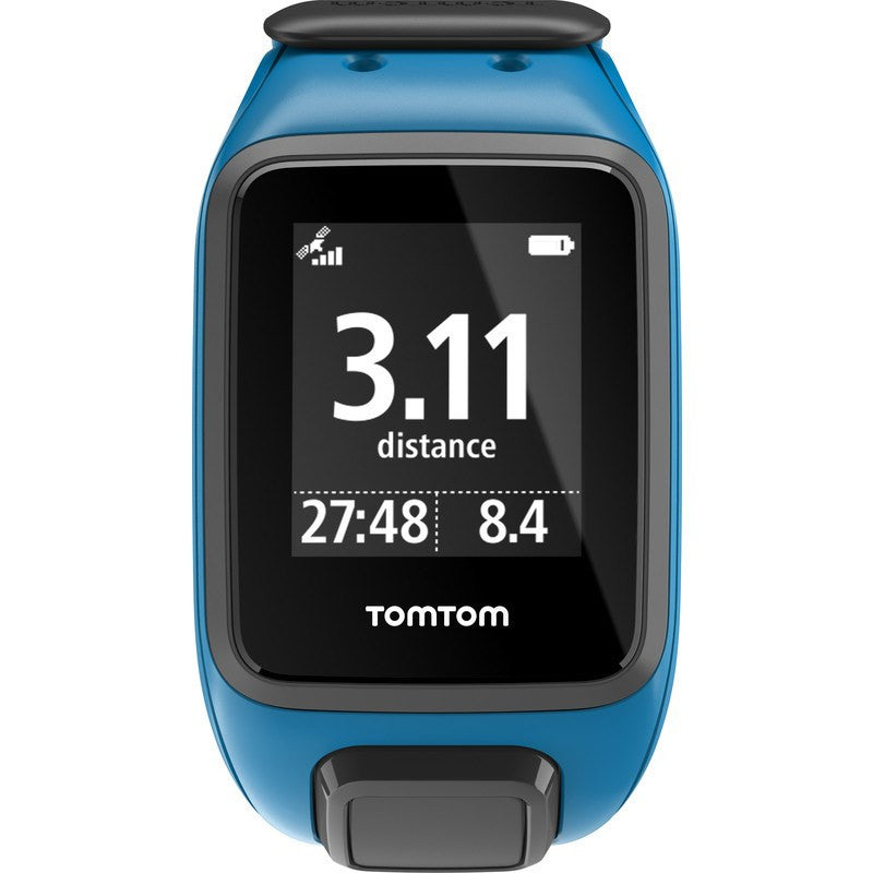 TomTom Spark Music + Cardio Large Watch | Shocking Blue 1RFM.002.11