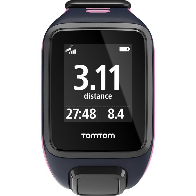 TomTom Spark Music + Cardio Small Watch | Sky Captain/ Pink 1RFM.002.10