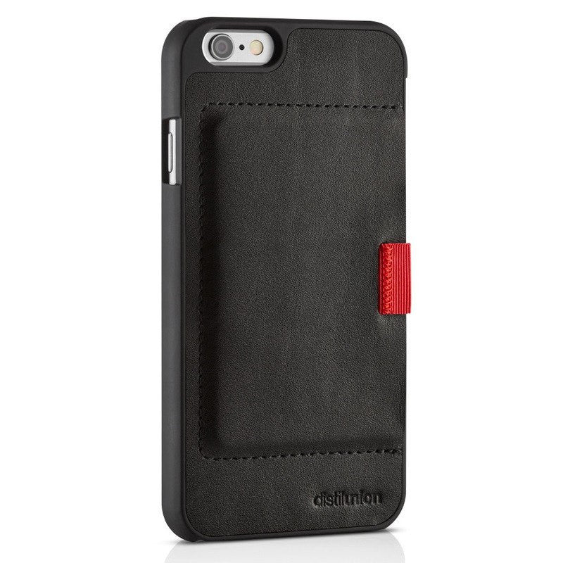 Distil Union Wally Wallet Case for iPhone 6+ | Black/Black