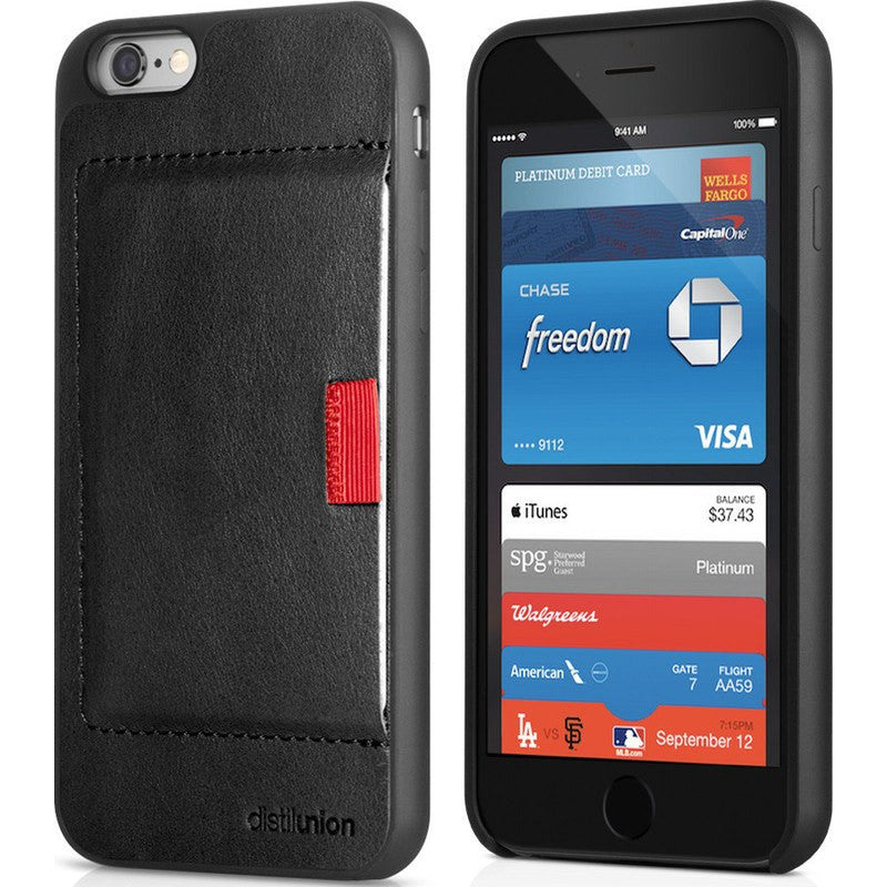Distil Union Wally iPhone 6 Wallet Case | Ninja Black WLC602