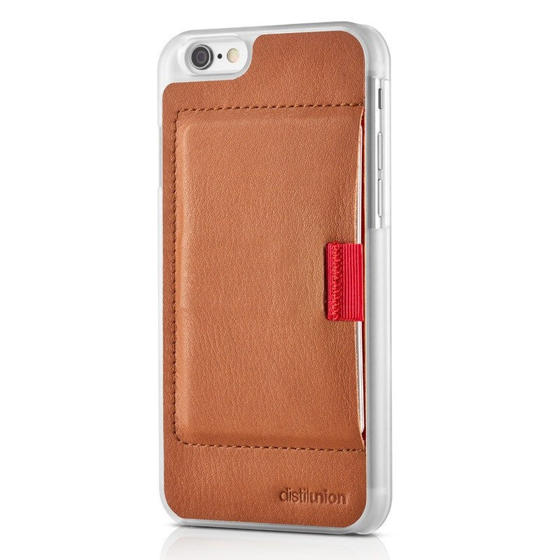 Distil Union Wally iPhone 6 Plus Wallet Case | Cowboy Brown WTP6P2