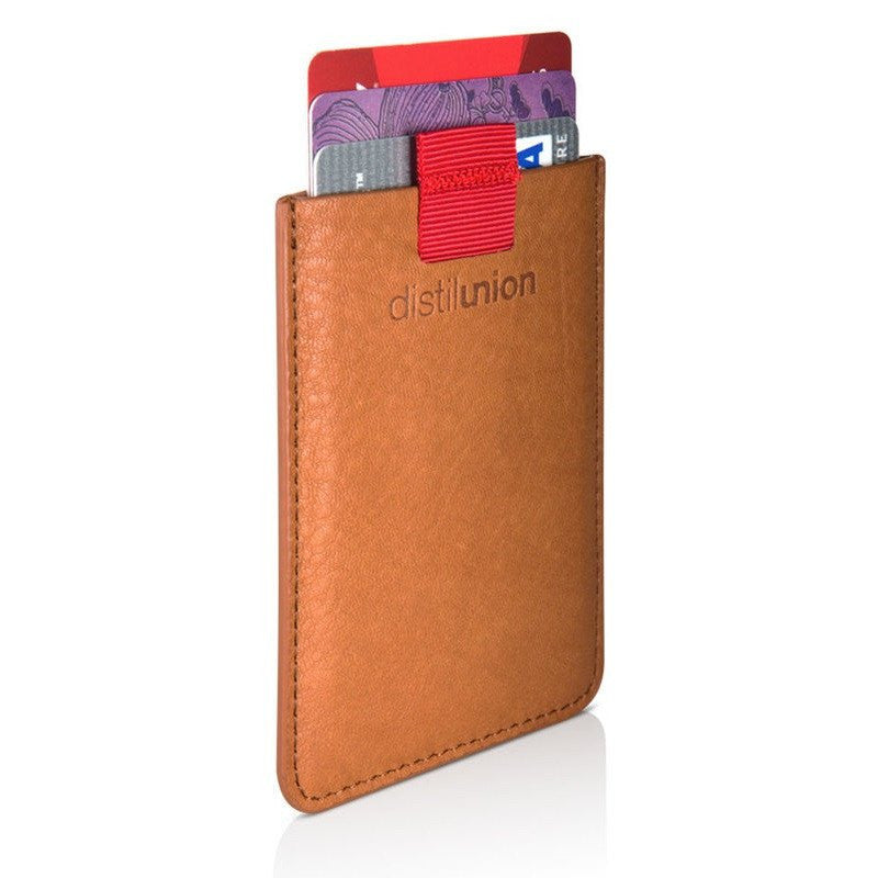 Distil Union Wally Sleeve Wallet | Cowboy Brown WS102
